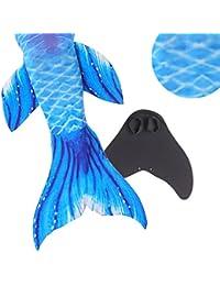 WhiFan Cola de Sirena para Nadar Las niñas con Monoaleta