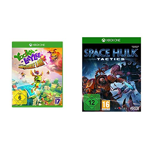 Yooka -Laylee and the Impossible Lair - [Xbox One] & Space Hulk: Tactics [Xbox One]