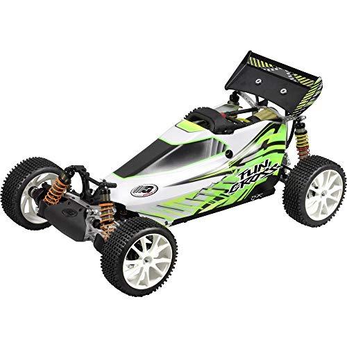 FG Modellsport Fun Cross Pro 1:6 RC Modellauto Benzin Buggy Allradantrieb RtR 2,4 GHz inkl. Akku, Ladegerät und Senderba