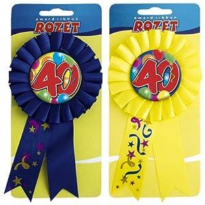 Folat Roseta para 40º cumpleaños.