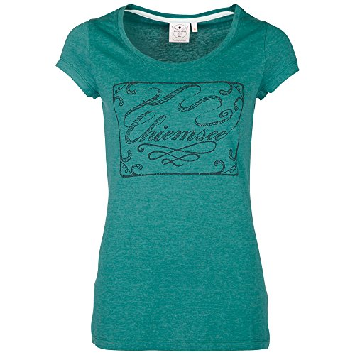 Chiemsee t-shirt top ivoire Vert - Olive