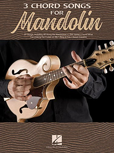 3 Chord Songs For Mandolin (Book): Noten für Mandoline