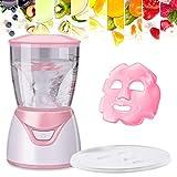 HailiCare Mini Tragbar Obst Gesichtsmaske Maschine Gesichtsmasken Hersteller DIY Natürlich Obst Gemüse Gesichtspflege Maskenherstellung Maschine Entfernung Akne (Enthalten 32Pcs Collagen Tabletten)