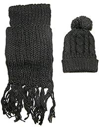 60dc5f815d0 Amazon.fr   Grosse Echarpe Femme - Packs bonnet