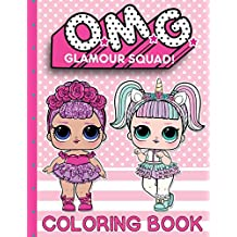 O.M.G. Glamour Squad: Coloring Book For Kids: Volume 1: 01