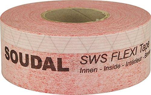 SWS Flexi Tape Inside flexibles Fensterdichtband 25m x 250mm