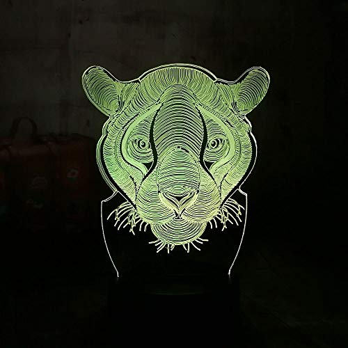 ZCHPDD Acrilico Lampada da Tavolo Colorato Gradiente Tocco Regalo Creativo Regalo di Compleanno per Bambini Atmosfera da Sogno Lampada Sette Colori 85 * 85 * 37Mm (Tocco USB O Batteria (Non Incluso))