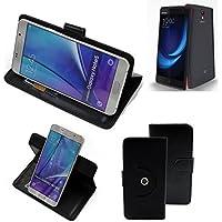 360 ° della copertura della cassa Smartphone Leagoo Elite 5, nero | Cassa del raccoglitore stand funzione Bookstyle. Migliore prezzo, migliore prestazione - K-S-Trade