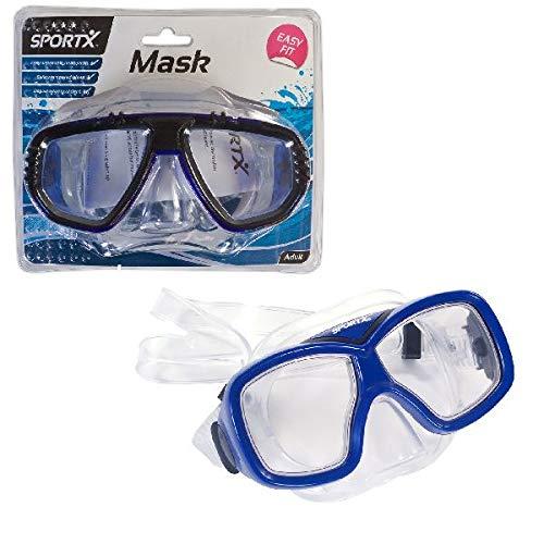 SPORTX - 0767003 - Ayuda El Swim - Buceo Adulto Máscara Comfort