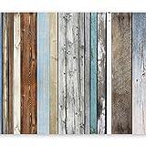 murando - Fototapete 400x280 cm - Vlies Tapete - Moderne Wanddeko - Design Tapete - Wandtapete - Wand Dekoration - Holz Bretter f-A-0355-a-a