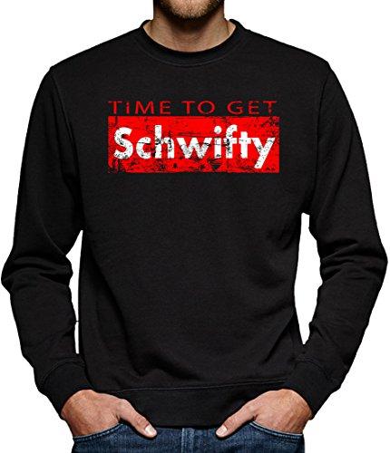 ifty Sweatshirt Pullover Herren S Schwarz (Herren Riddler-halloween-kostüm)