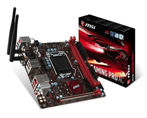 MSI H270I Gaming Pro AC - Placa Base Performance Chipset