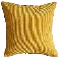 onewiller giallo mais noccioli modello poliestere Throw cuscino decorativo Copricuscino,