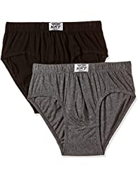 Force NXT Men's Cotton Brief (Pack of 2)