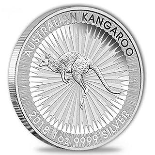 1 Unze Australian Nugget / Kangaroo Silbermünze 2016, 999 Feinsilber, 1 OZ, 9999 Silver, reines Silber,