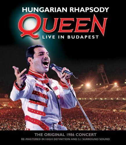 Hungarian Rhapsody - Queen Live In Budapest 1986 - Jewel Case by Unknown (0100-01-01j (Queen-live In Budapest)