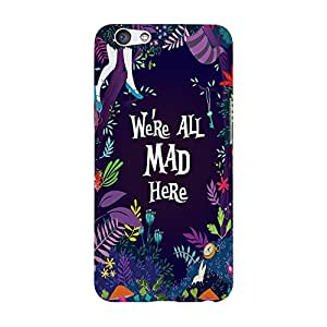 The Purple Tree Printed designer mobile back cover for OPPO F1s