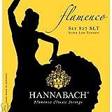 Cuerdas para guitarra clásica serie 827Super baja tensión Flamenco Classic Set de 3graves