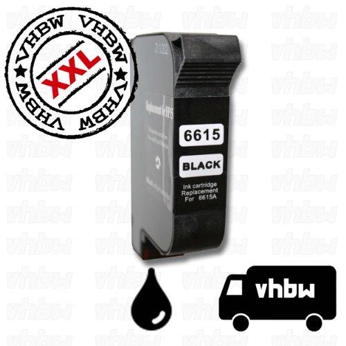 Preisvergleich Produktbild vhbw kompatible Ersatz Tintenpatrone Druckerpatrone schwarz für Drucker wie HP 15, C6615D.