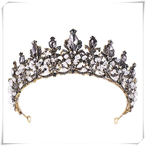 til K?nig Krone-f¨¹r Prom King Party Dekorationen, k?nigliche mittelalterliche Krone und Zepter Kost¨¹mzubeh?r (gold) ()
