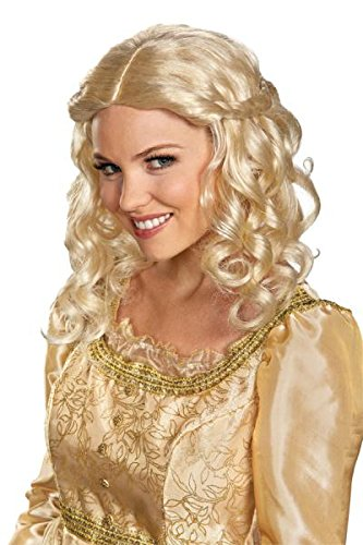 Maleficent Movie Disney Aurora Adult Costume Wig