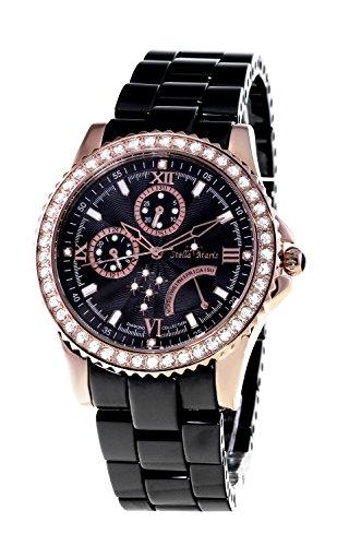 Stella Maris Damen-Armbanduhr Analog Quarz Premium Keramik Diamanten - STM15N4