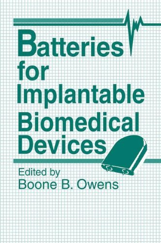 Batteries for Implantable Biomedical Devices by B.B. Owens (Editor) (2-Jun-2012) Paperback (Bb Batterie)