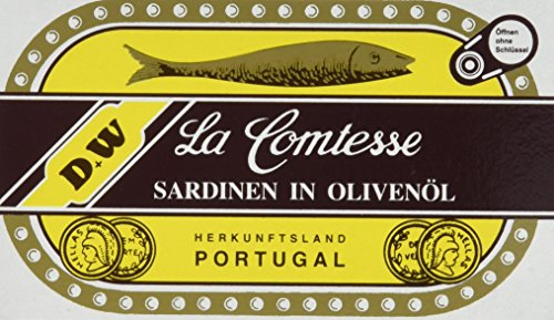 La Comtessa Sardinen in Olivenöl, 10er Pack (10 x 125 g)