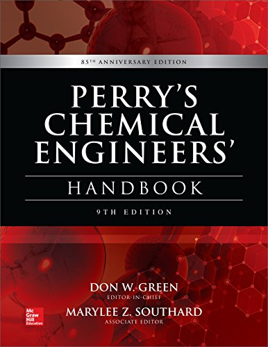Perry's chemical engineer's handbook (Ingegneria) por Don Green