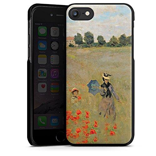 Apple iPhone X Silikon Hülle Case Schutzhülle Claude Monet Gemälde Kunst Hard Case schwarz