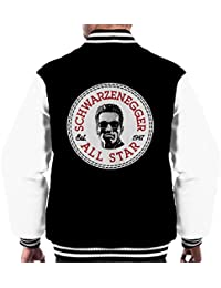 Arnold Schwarzenegger All Star Converse Logo Men's Varsity Jacket