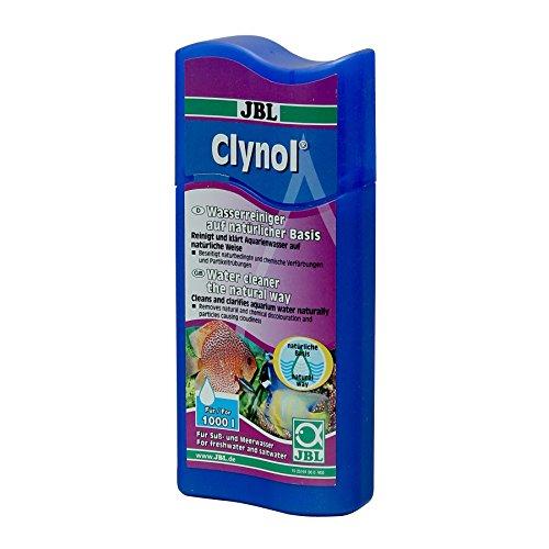 JBL Clynol 25190 Wasseraufbereiter zur Reinigung und Klärung für Süß- und Meerwasser Aquarien, 100 ml