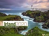Irland ReiseLust 2020, Wandkalender im Querformat (45x33 cm) - Natur- und Reisekalender mit Monatskalendarium