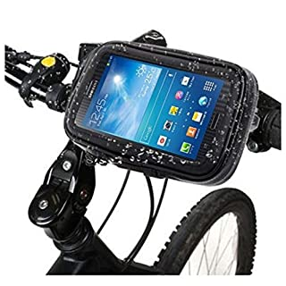 DFV mobile - Professional Support for Bicycle Handlebar and Rotatable Waterproof Motorcycle 360º for => SMARTISAN NUT PRO 2 > Black
