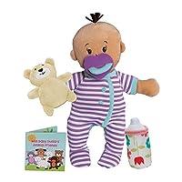 Manhattan Toy Wee Baby Stella Sleepy Times Scent Soft Doll Set, Beige
