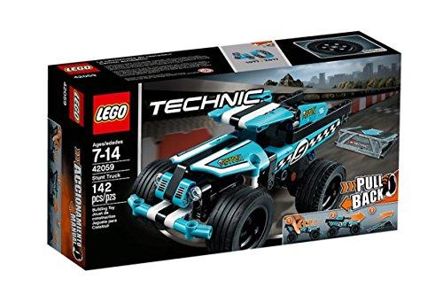 Preisvergleich Produktbild LEGO Technic 42059 - Stunt-Truck Rückziehauto, Auto-Bauset, Bauspielset
