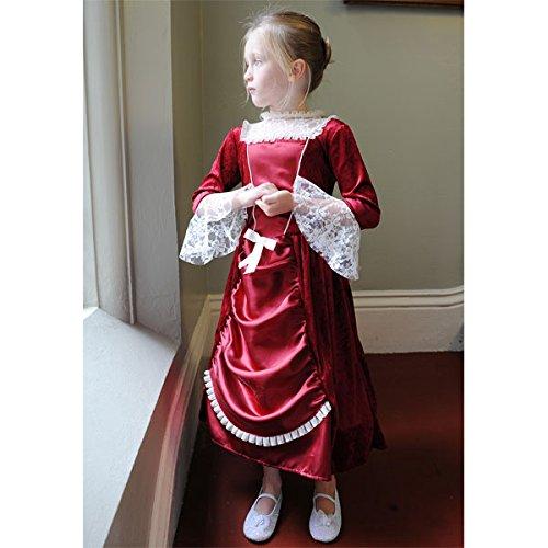 Miss Isabella Historische Kostüme 9 Jahre bis 11 Jahre (Isabella Kostüme Königin)