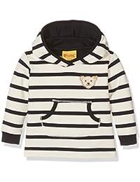 Steiff Sweatshirt 1/1 Arm, Sweat-Shirt Fille, Y/D Stripe 0001, (Taille Fabricant: 80)