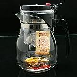 Pinkdose® Pinkdose Kamjove Glass Kungfu Tea Set Press Auto-Open Art Tea Cup Teapot With Infuser Tp-757 700Ml Elegant Style Tea Sets Infuser De Cha