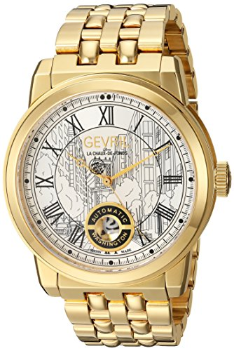 Gevril Reloj con movimiento cuarzo suizo Man Washington 47 mm