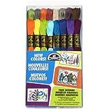 DMC Floss ricamo confezione 8,7 yarde 16/Pkg-nuovi colori il filo interdentale