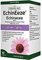 Natures Aid EchinEeze 70mg (Equivalent 460mg-530mg of Echinacea)