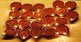 FIZZYTECH Extra Bright LED Diya String Light for Diwali(21pc 1 Set)