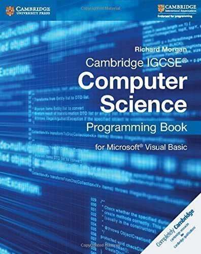 Download Cambridge IGCSE® Computer Science Programming Book