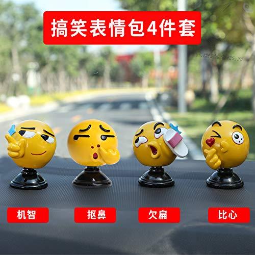 In-Car-Schmuck-Dekoration Auto Dekorieren Puppe Schüttelkopf expression Tasche schön niedliche Netz rot kleine kreative Persönlichkeit
