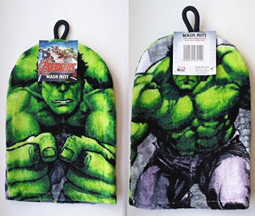 Avengers-The-Hulk-Wash-Mitt-Flannel