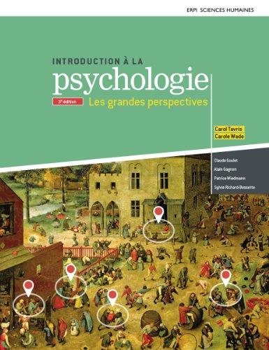 Introduction  la psychologie : Les grandes perspectives