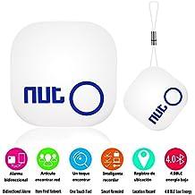 XinXu Anti perdida Rastreador Nut 2 Mini Localizador Bluetooth de llave Localizador Alarma para Llave Mascota o Niño para ios / Android