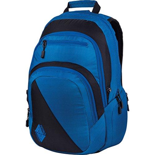 Nitro Stash Rucksack, Schulrucksack, Schoolbag, Daypack,  Blur Brilliant Blue, 49 x 32 x 22 cm, 29 L,