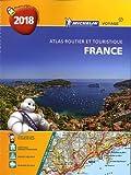 Atlas Routier France Spirale Michelin 2018...